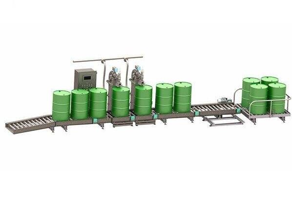 江苏盐城200L桶灌装机-建筑材料灌装机