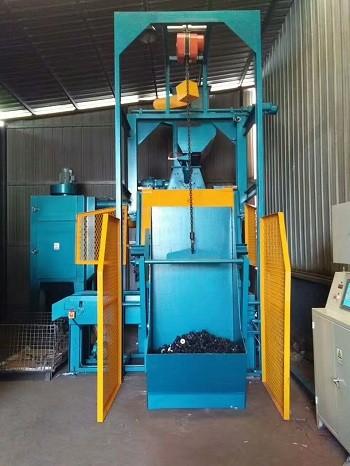 无锡泰源专业定制QPL300橡胶(金属)自动上料抛丸机