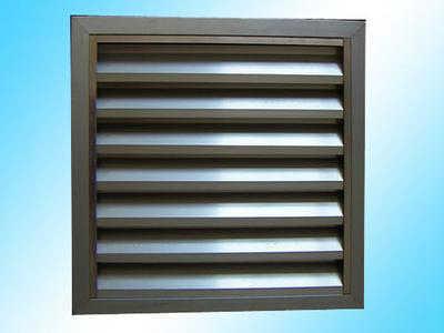 防雨百叶风口安装外墙常用铝合金风口
