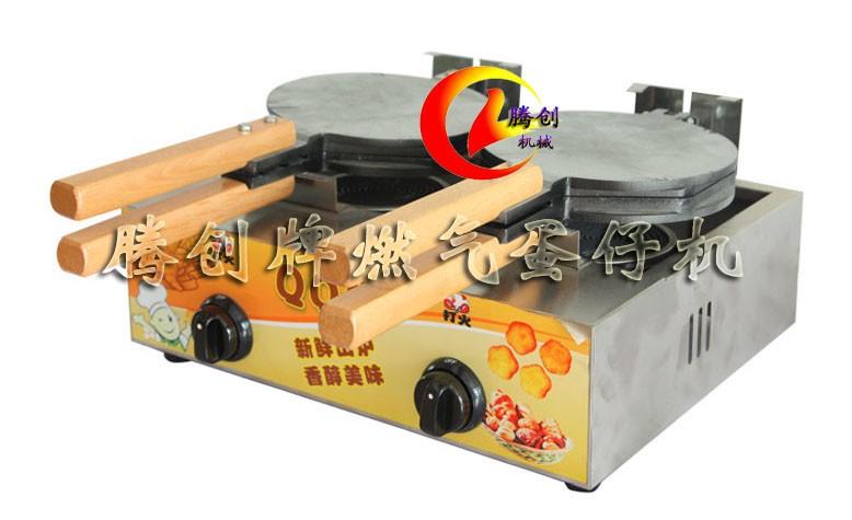 新兴小吃qq鸡蛋饼机,香港鸡蛋仔机做法配方