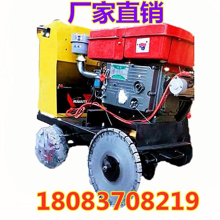 手推式柴油牛场开槽机   混凝土路面开槽机  柴油开槽机