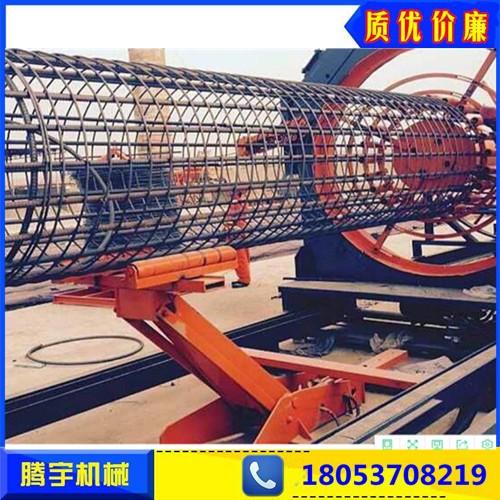 钢筋笼缠绕机钢筋笼绕筋机教学钢筋笼绕筋成型机  厂家直销