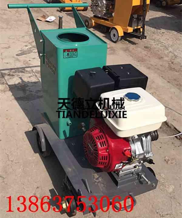 500型汽油刻纹机 13马力水泥路面切割机 防滑纹切纹机 混凝土切割机