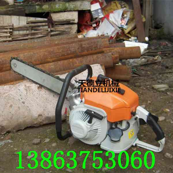 SSQ-500汽油金刚石链锯 岩石混凝土切割锯 070动力汽油切墙链锯