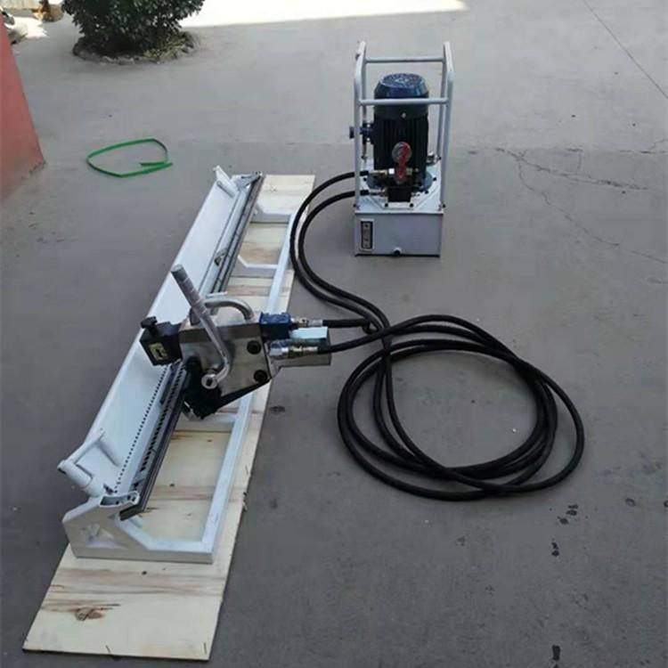 KJ2000Y液压高强度订扣机  防爆泵站带动钉扣机