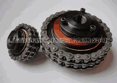 TSCL摩擦式扭矩限制联轴器,扭力限制联轴器链条式安全联轴器