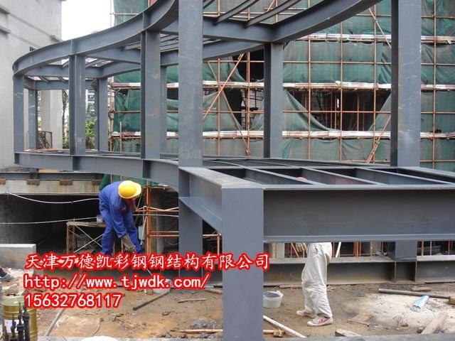 天津钢结构平台承重咱比划、比划