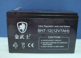 金武士蓄电池SH7-1212V7AH报价价格