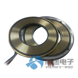 PCB板导电滑环分离式导电环盘式滑环