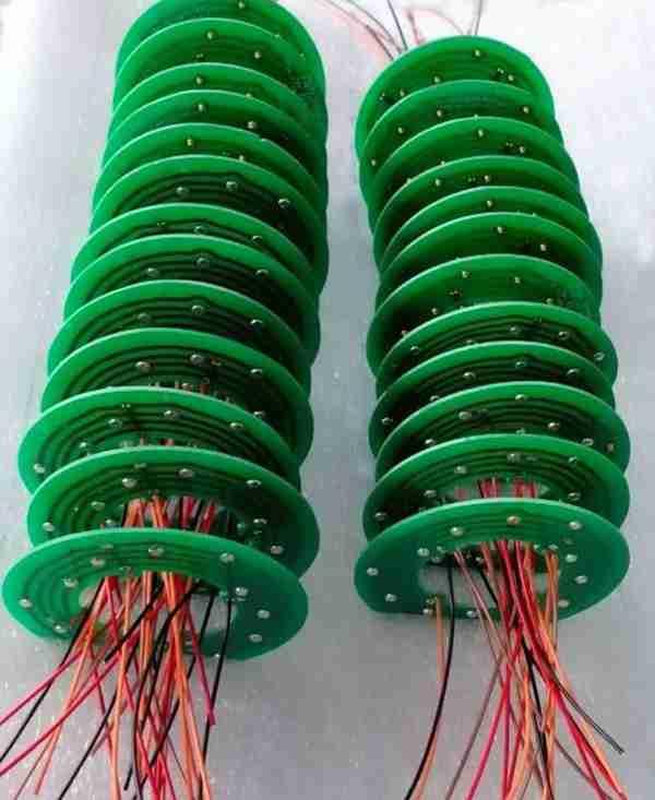盘式滑环PCB板导电滑环简易滑环