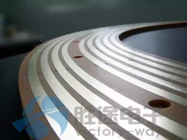 大型盘式滑环定制 橡塑设备旋转滑环