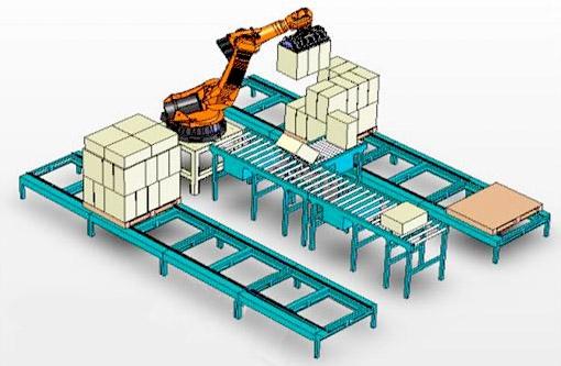 中智机器人码垛机,包装机器人,正品行货,实惠价格