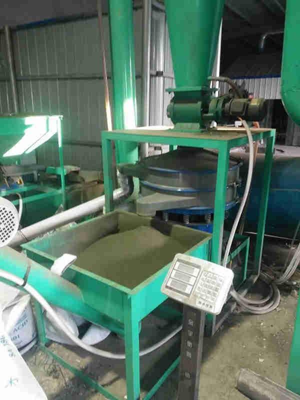 考了证的600型环保磨粉机专利