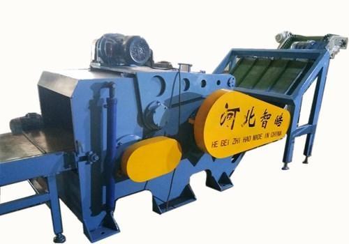 质高产量高塑钢带铁粉碎机
