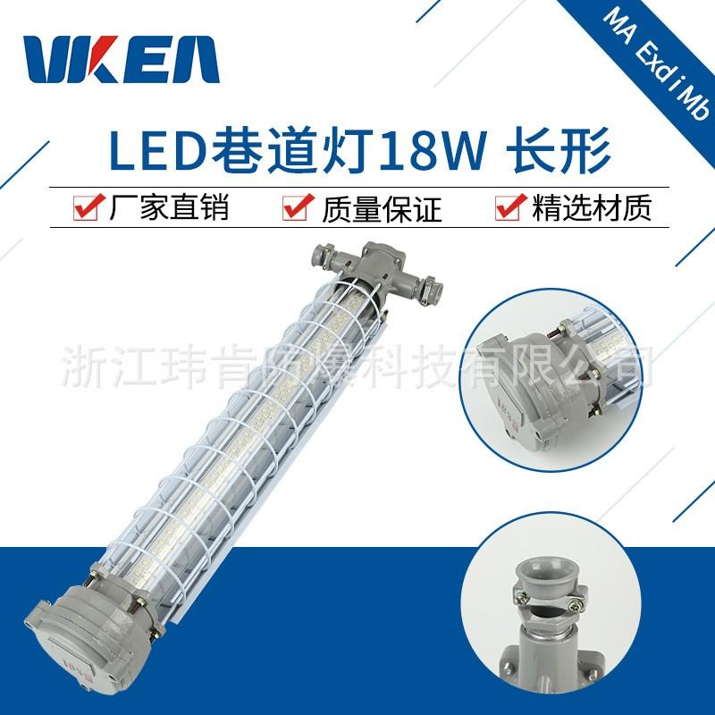 长条型DGS18/127L矿用LED巷道灯