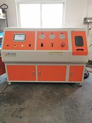 原厂供应瓶阀耐氧气压力激燃试验台