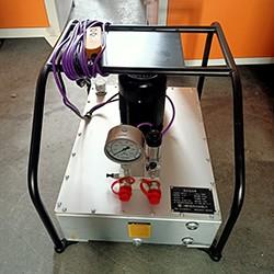 超高压电动柱塞泵液压拉伸器电动泵 驱动中空液压泵