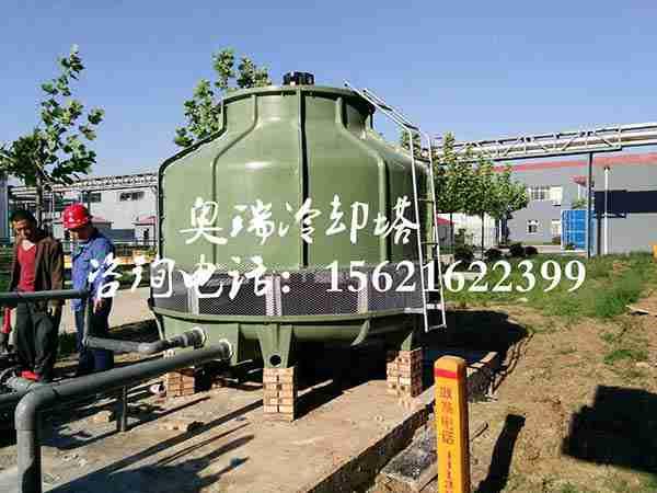 北京节能喷雾冷却塔厂家奥瑞DLT-350新型节能喷雾圆形冷却塔