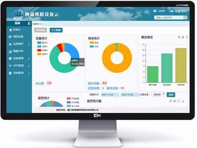 物通博联?分布式设备远程运营管理平台 工业大数据物联网云平台定制开发
