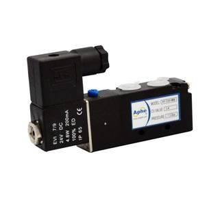 电磁阀二位五通4V310-08B板接式气源G1/4