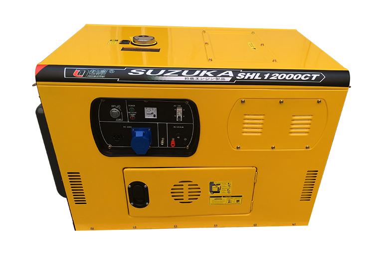 10kw便携式柴油发电机
