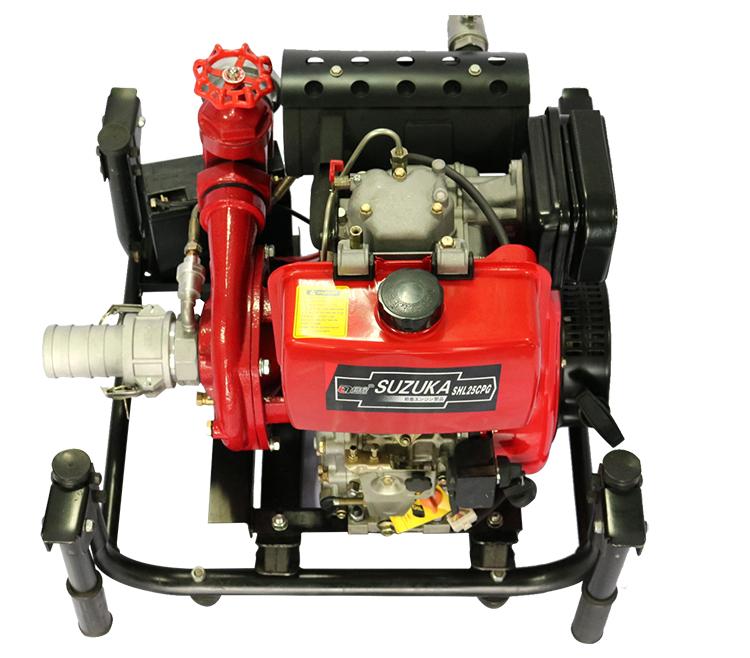 2.5寸柴油无水自吸抽水泵