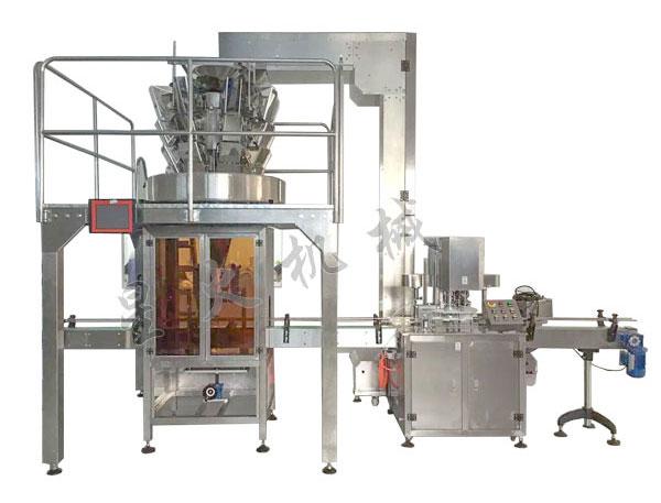 易拉罐灌装封口生产线/铝合金罐封盖机-广州易拉罐封口机