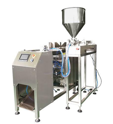 自立袋洗衣液包装机-袋装洗手液包装机-天津液体包装机