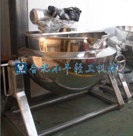 100L可倾式蒸汽夹层锅