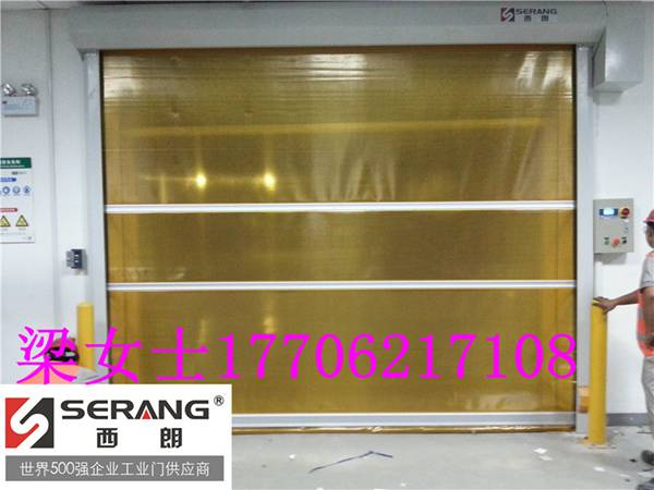 台州无尘室透明pvc软帘门