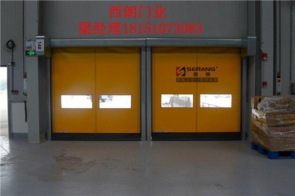 昆山最新大型厂房铝合金卷帘门