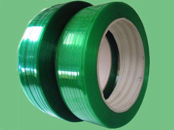 PET手工塑钢打包带1608 /1910 20kg装绿色包装带配件塑钢捆扎绳