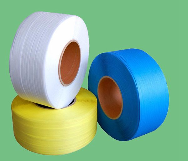 PP打包带规格1208  10KG/卷特白色打包带 手工打包带 塑料打包带