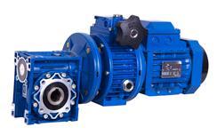 厂家现货供应杰牌RV方形铝壳蜗轮蜗杆减速机