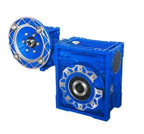 厂家现货供应杰牌NMRVE方形铝壳蜗轮蜗杆减速机
