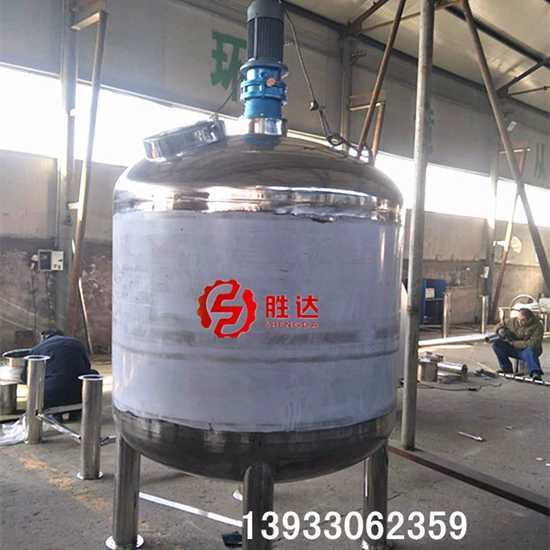不锈钢液体搅拌罐304强力胶水搅拌桶环氧树脂反应锅