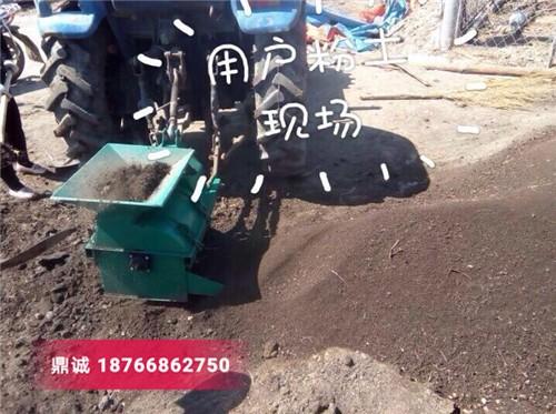 广西贺州轴传动粉土机 小型花园苗圃碎土机 育秧粉土机 打土机粉碎机