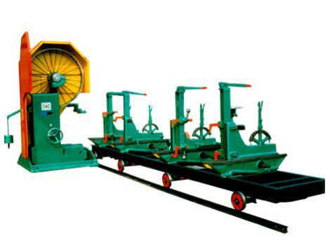 木工带锯机设备电动跑车磨锯机