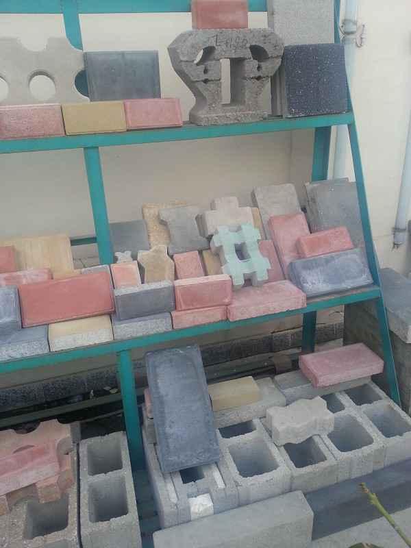 供应新疆乌鲁木齐水泥制砖机-液压免烧砖机价格(图)