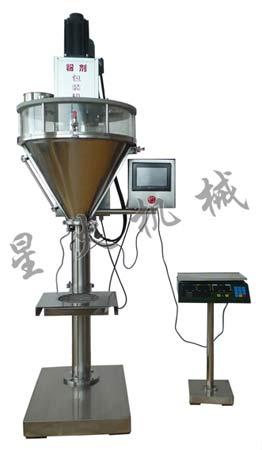 半自动粉剂灌装机-定量淀粉灌装机-攀枝花市-调味粉灌装机