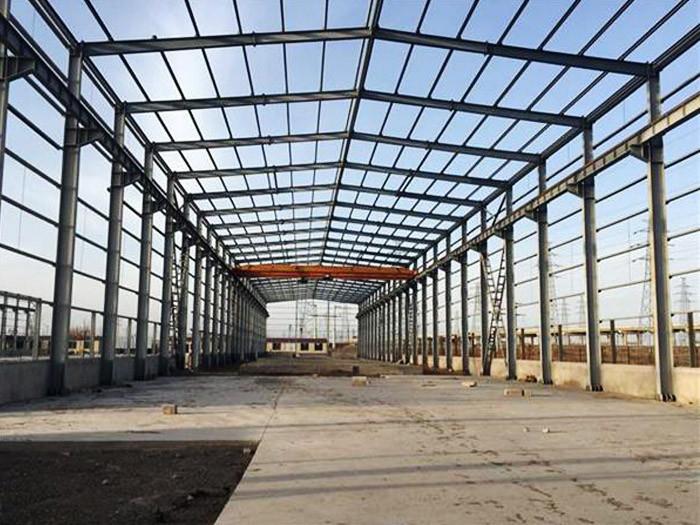 新疆乌鲁木齐大跨度钢结构厂房—远东伟业