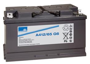 西藏拉萨德国阳光蓄电池A412/65G6代理价格