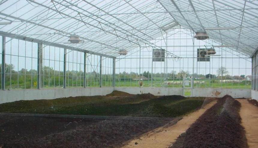太阳能煤泥烘干温室系统