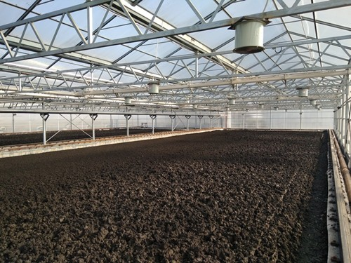 太阳能污泥干化制水泥系统