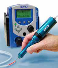 EFD 手持式、高压力的点胶工具