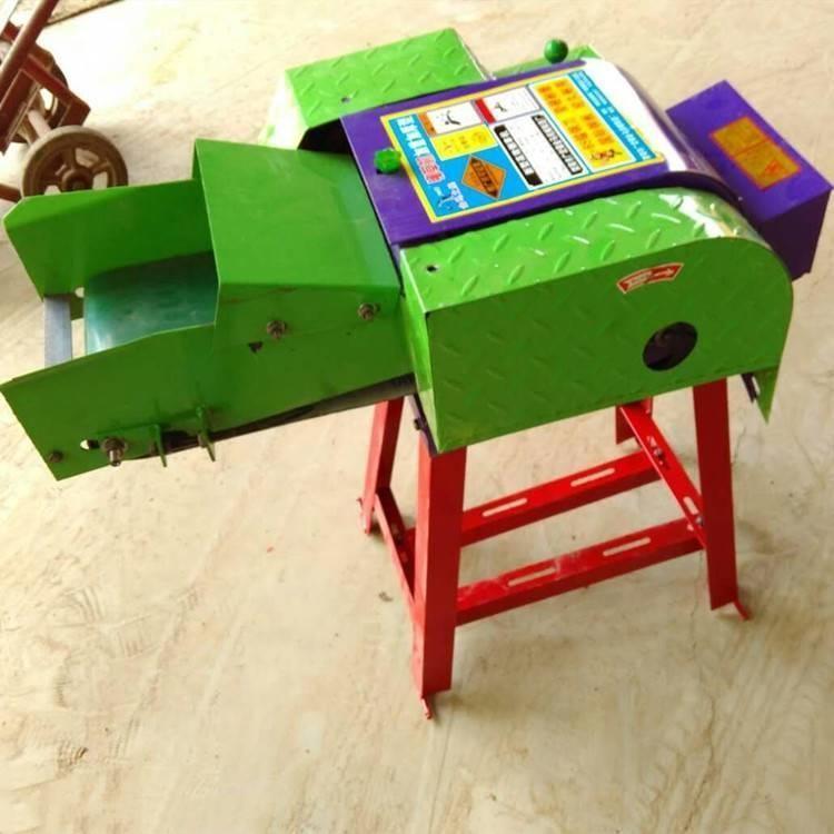 自动进料地瓜秧铡草机 青贮铡草机 玉米秸秆铡草机