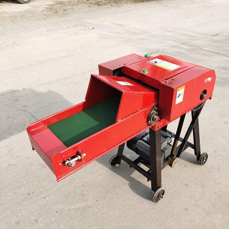 小型输送带铡草机 全自动多功能秸秆铡草机 畜牧养殖干湿用打草机