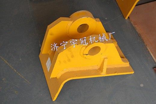 济宁宇冠专业生产正品山推推土机底盘配件铲刀托架价格低