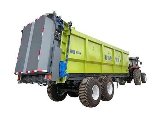雨林20立方大型有机肥抛洒车 农家肥撒肥机