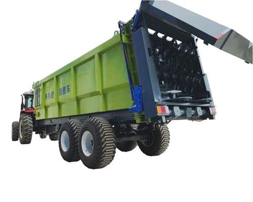 大连雨林大型抛粪车 湿粪扬粪机 20立方有机肥撒肥机